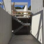 Villa Zuid-Frankrijk met prefab betonwanden en trappen