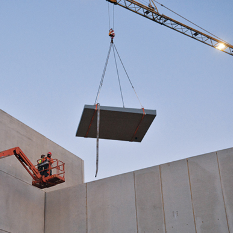 Dak betoncentrale